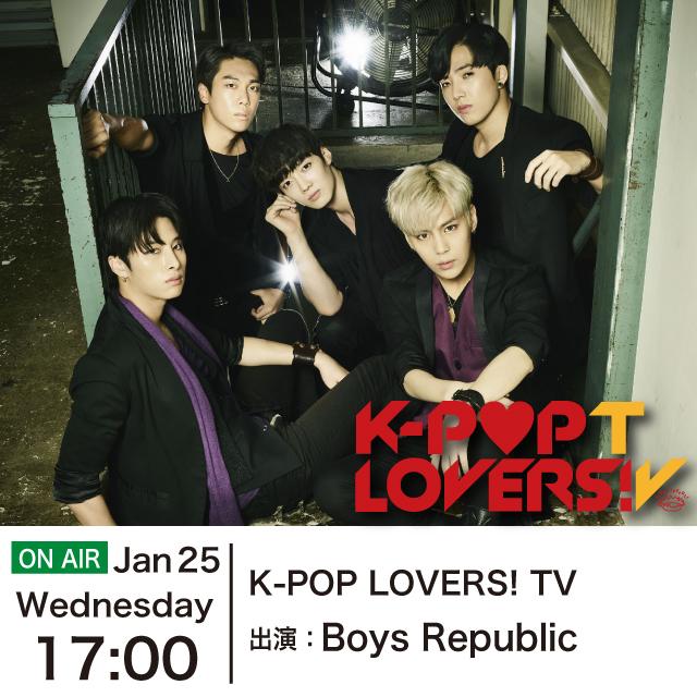 K-POP LOVERS! TV - Boys Republic