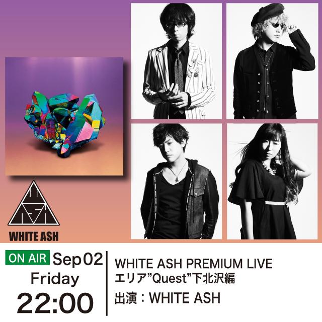 """WHITE ASH PREMIUM LIVE エリア""""Quest""""下北沢編"""