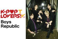 【アーカイブ公開中】『K-POP LOVERS! TV』にBoys Republicが登場!1月25日(水)17:00~配信!!